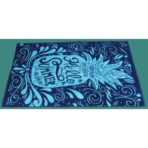 Fürdőlepedő 100X170 cm, Aloha kék