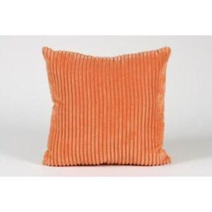 Kord díszpárna - narancs (töltött)