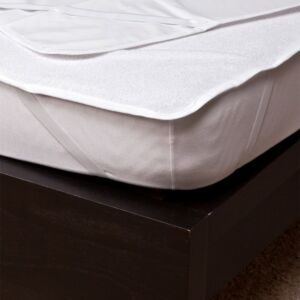Frottír matracvédő PVC-vel, 160×200 cm