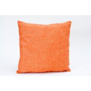 Palmela lenes díszpárna - narancs (töltött)