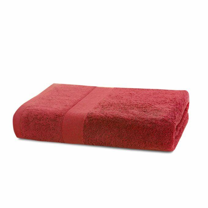 Marina 100% pamut törölköző - 50*100 cm - piros