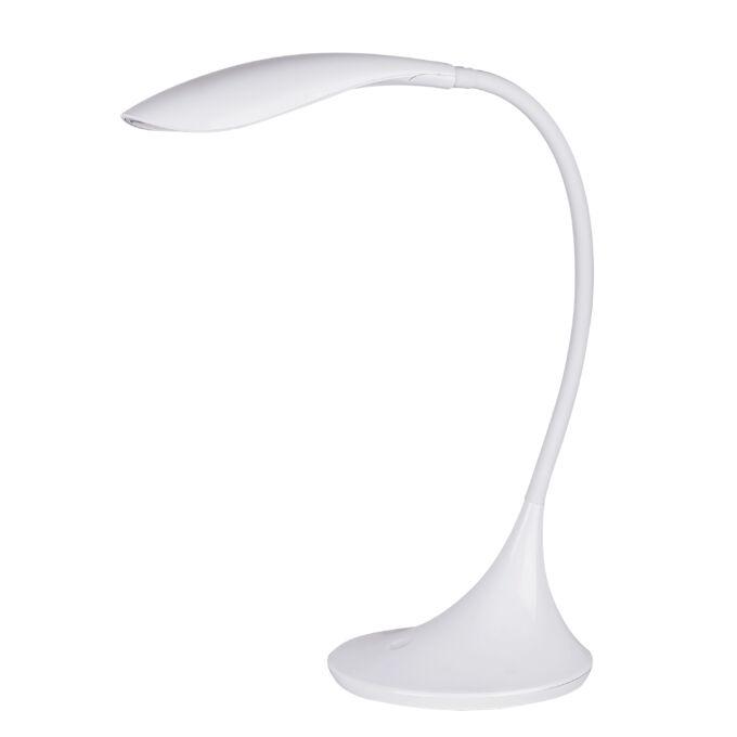 Rábalux Dominic asztali LED lámpa - fehér