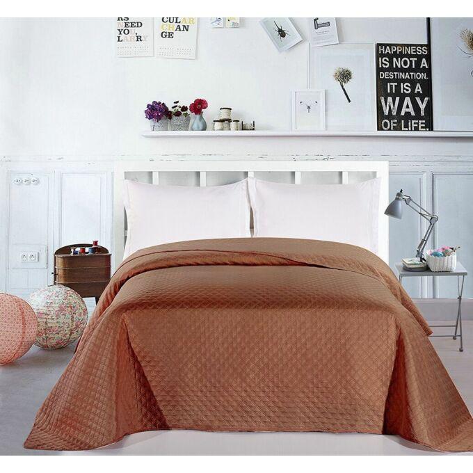 Adam ágytakaró - 240*260 cm - barna