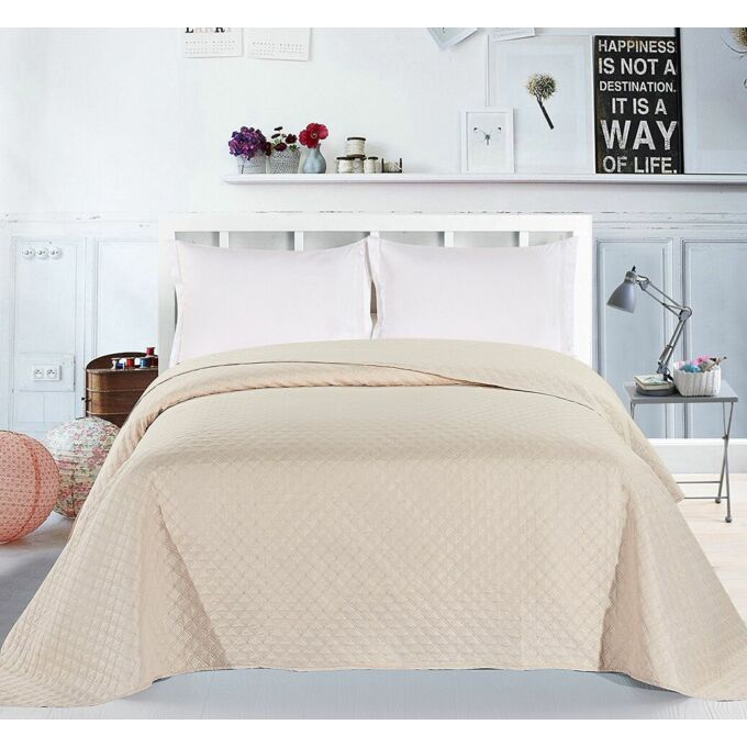 Adam ágytakaró - 240*260 cm - krém