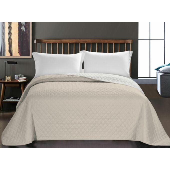 Axel ágytakaró - 220*240 - bézs-fehér - kétoldalas
