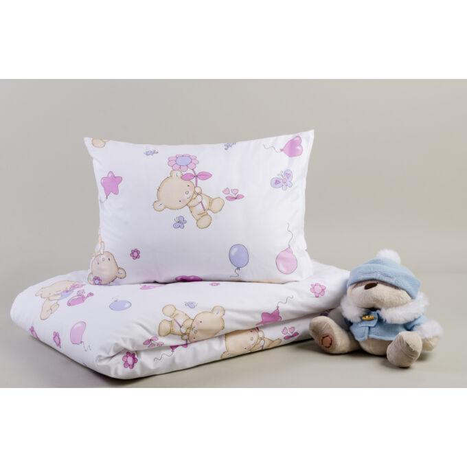 2 részes gyermek pamut ágyneműhuzat Bears / Macis