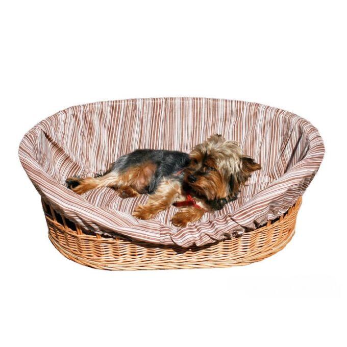 Kutyakosár bélelt - 74 cm széles