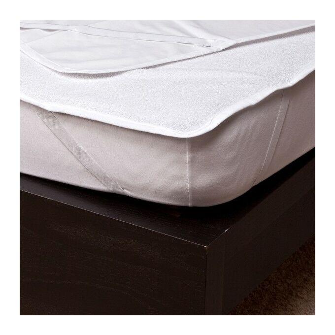 Frottír matracvédő PVC-vel, 90×200 cm