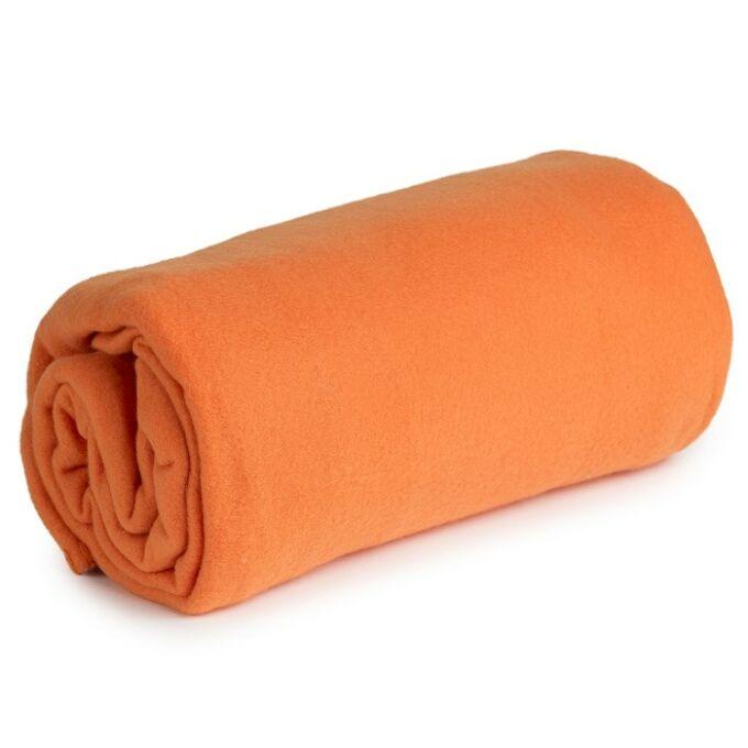Polár takaró - narancs
