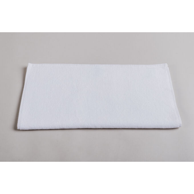 Törölköző - frottír, fehér, 20*20 cm