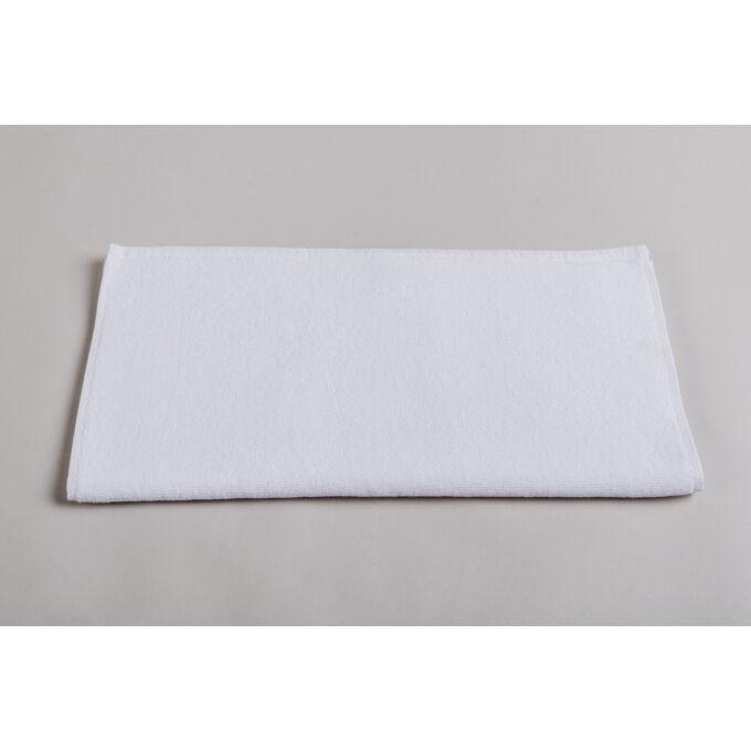 Törölköző - frottír, fehér, 57*175 cm