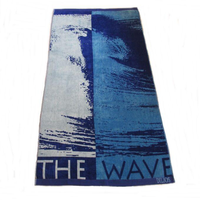 Fürdőlepedő 90X170 cm, Wave