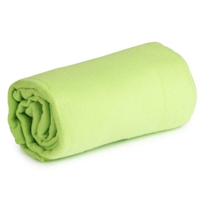 Polár takaró - zöld