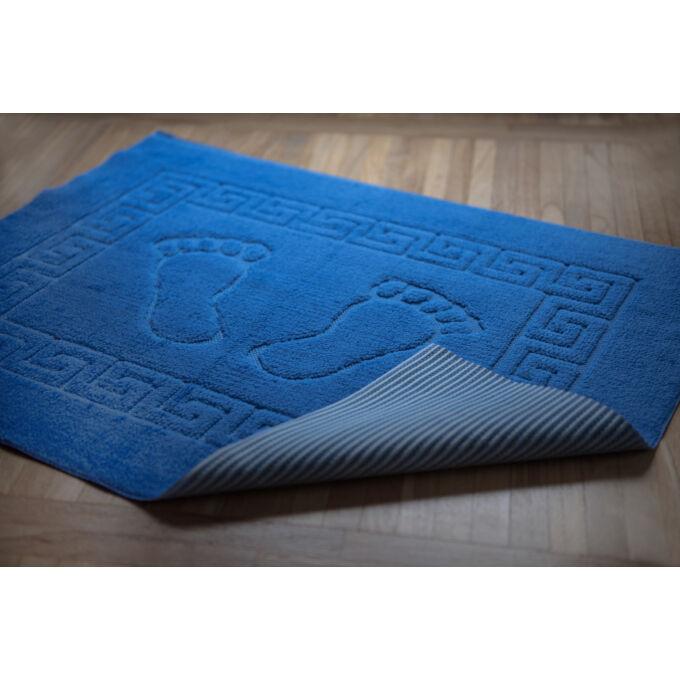 Fürdőszoba szőnyeg - csúszásgátlóval - kék - 50*70 cm
