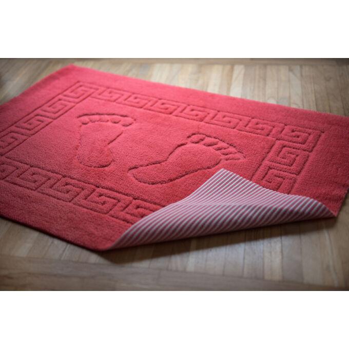 Fürdőszoba szőnyeg - csúszásgátlóval - korall - 50*70 cm