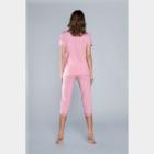 J.PRESS Női pizsama szett - 38 - rózsaszín - NEVADA