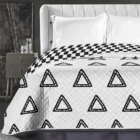 Triumph ágytakaró - 220*240 cm - fekete-fehér, kétoldalas