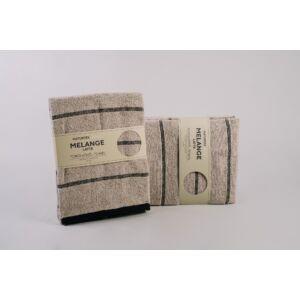 Naturtex Melange 100% pamut törölköző - latte - 50 100 cm 09b816d3d5