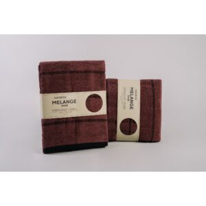 Naturtex Melange 100% pamut törölköző - rose - 50 100 cm 2c2e61e188