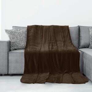 Tyler pléd - 70 150 cm - barna - extra puha 2a72b5d734