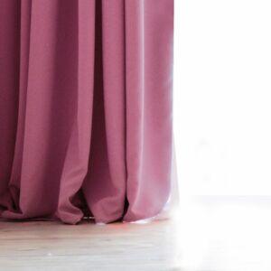 Velvet - készfüggöny - 140x270 cm - Rózsaszín