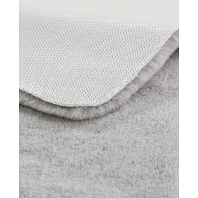 Premium Bali fürdőszobaszőnyeg - mosható - extra puha - 40*60 cm - ezüst