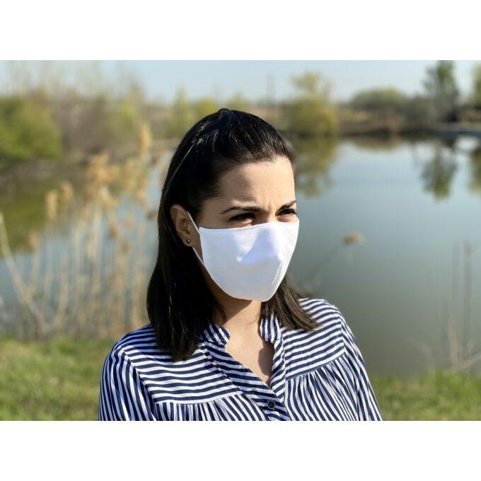 Naturtex - Medisan 3 rétegű szájmaszk, orr rész kialakítással - 10 db /csomag