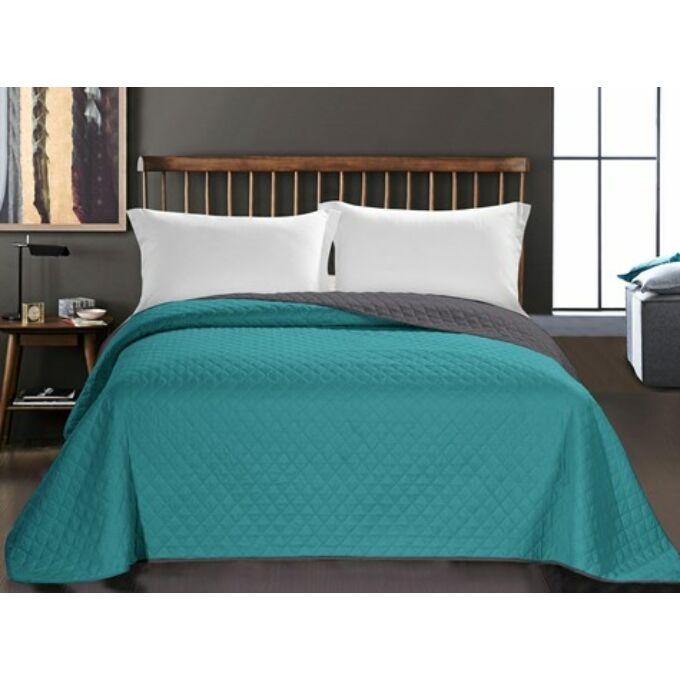 Axel ágytakaró - 170*210 cm - tenger-grafit, kétoldalas