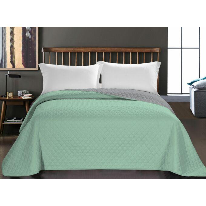 Axel ágytakaró - 220*240 - menta-szürke - kétoldalas