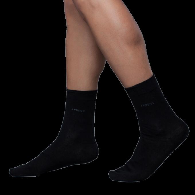 J.Press férfi zokni mindennapos viseletre - 39-40 - fekete - D050 (öltönyhöz is)