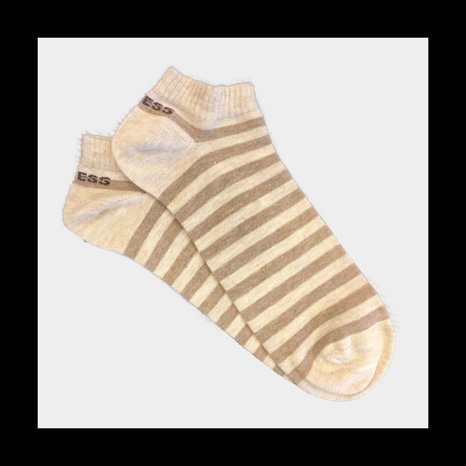 J.Press férfi titok zokni - 41-42 - világos homok-sötét homok - MSS019