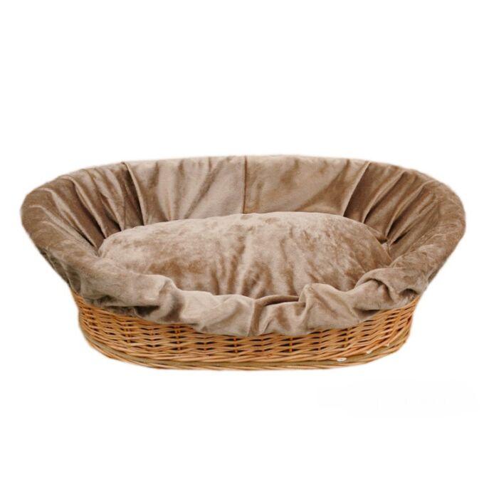Kutyakosár bélelt - 62 cm széles