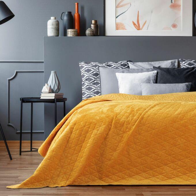 Laila ágytakaró - 220*240 cm - Méz