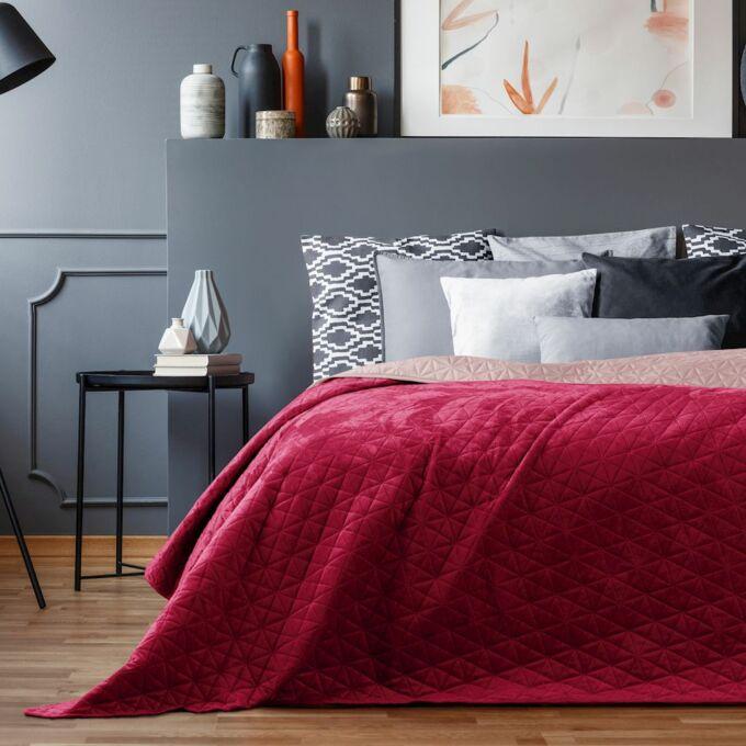 Laila ágytakaró - 170*210 cm - Rubin