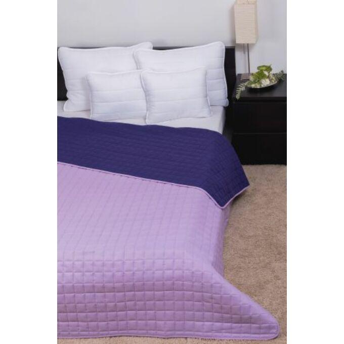 Laura ágytakaró microfiber világos lila - sötét lila