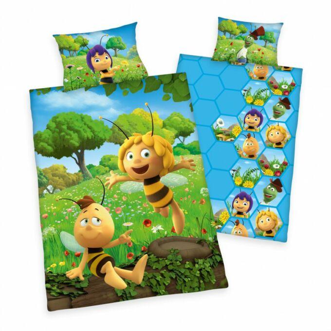 2 részes pamut Maja a méhecske ágyneműhuzat