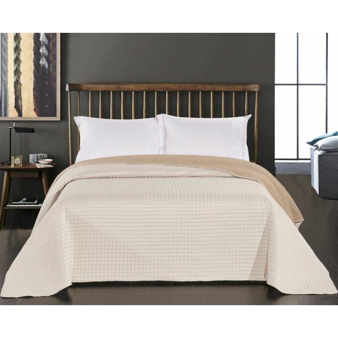 Paul ágytakaró - 220*240 cm - krém-bézs, kétoldalas