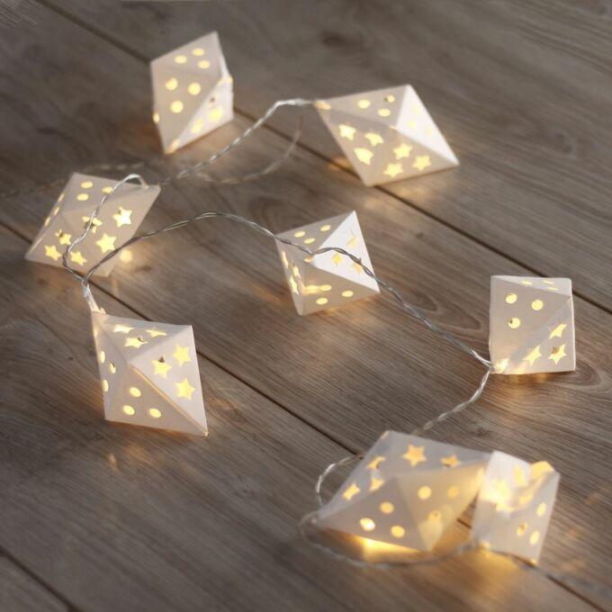 Karácsonyi dekorációs világítás LED füzér - Richi - 10 db - 1,65 méter