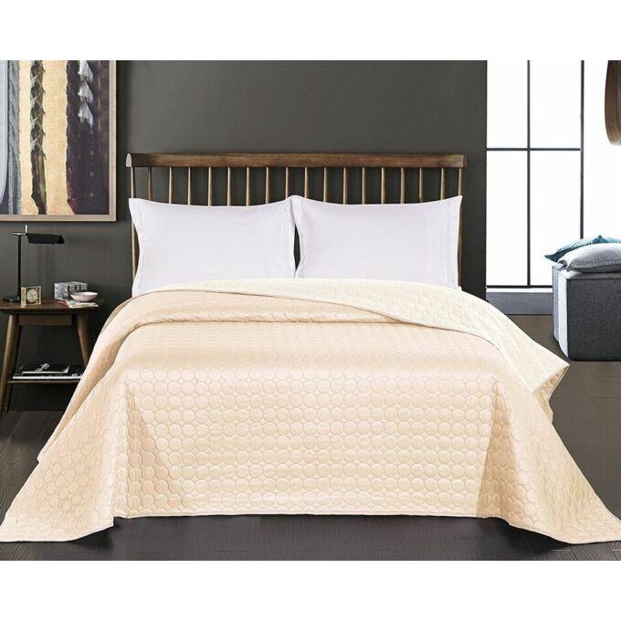 Salice ágytakaró - 220*240 cm - fehér-bézs, kétoldalas