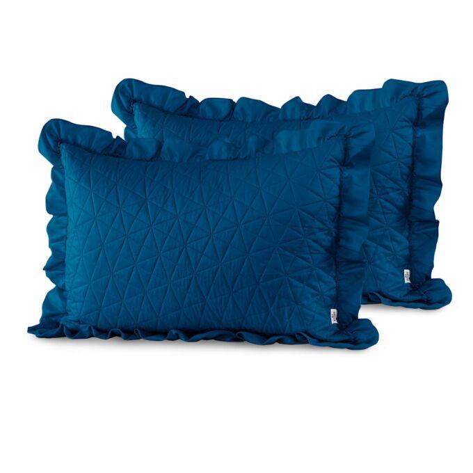 Tilia díszpárna huzat - 50*70 cm - 2 darab / csomag - Kék