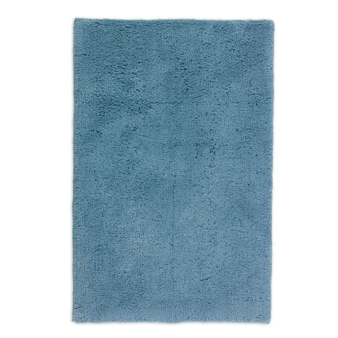 Prémium Bahamas fürdőszobaszőnyeg - mosható - extra puha - 67*110 cm - világoskék