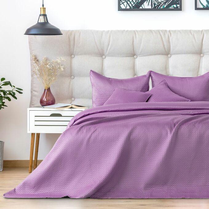 Carmen ágytakaró - 220*240 cm - Halványlila