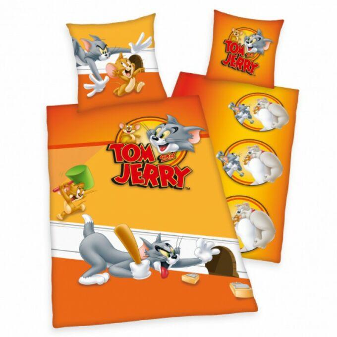 2 részes pamut Tom&Jerry ágyneműhuzat