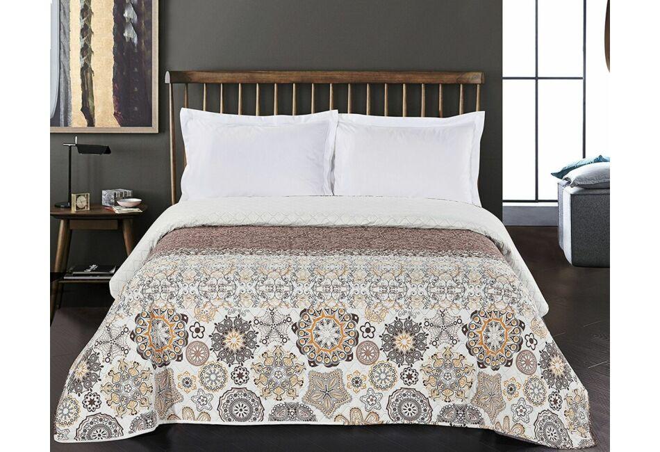 Alhambra ágytakaró - 240 260 cm - barna-narancs c983befaca