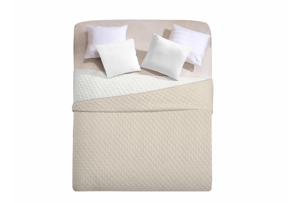 Axel ágytakaró - 240 260 - bézs-fehér - kétoldalas - Ágytakaró ad31c82dfa