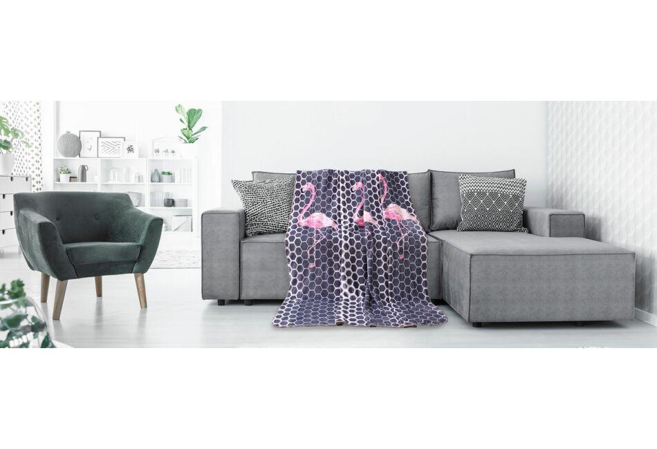 Polár pléd - 170 210 cm - Flamingo - Pléd 74b6a5dec5