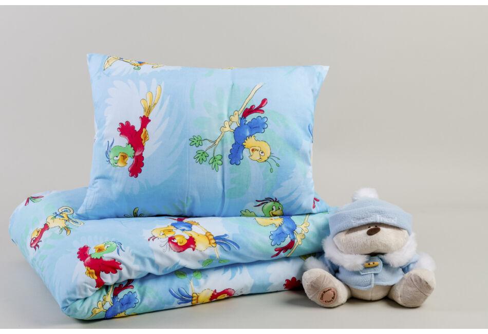 2 részes gyermek pamut ágyneműhuzat Parrot   Papagájos - Pamut ágyneműk ab95cb9786